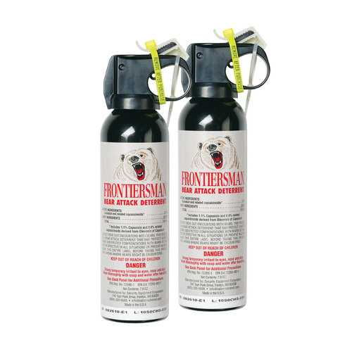 Frontiersman Bear Spray Combo Pack - Pack of 2 7.9 oz Canisters