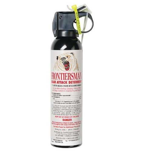 Frontiersman Bear Spray Maximum Strength/Maximum Range 35 Feet 9.2 oz