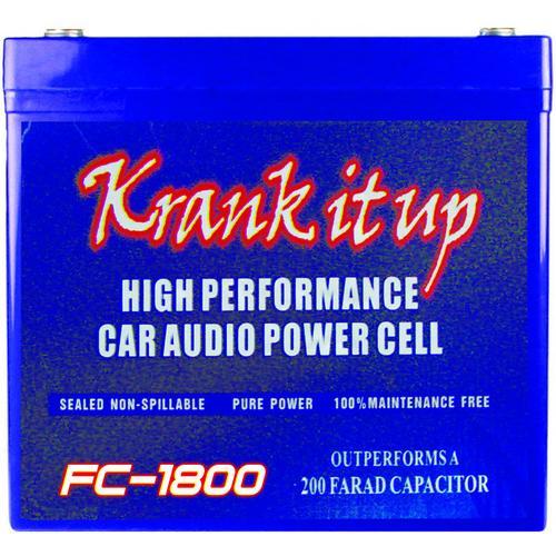 KRANK IT UP POWER CELL 1900 AMPS 12 VOLT; 81 Ah