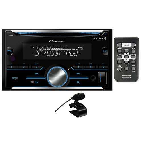 Pioneer D.Din CD Player w/BTAuxUSB2xPreOutSpotify Pandora