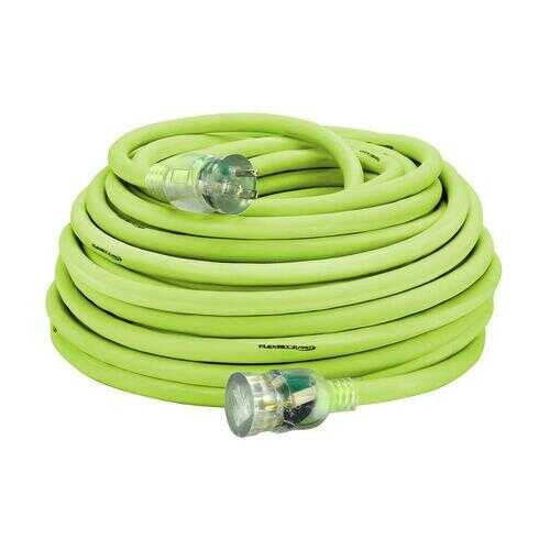 Flexzilla Pro Extension Cord 10/3 AWG SJTW 100ft Outdoor Lighted Plug
