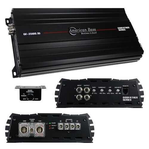 American Bass 1CH Amplifier 3047 Watts RMS