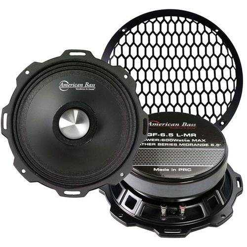 """American Bass 6.5"""" Mid-Range 120W RMS 4 ohm Sold Each"""