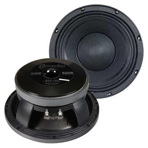 American Bass 10´´ Midbass Speaker 400W RMS/800W Max 4 Ohm