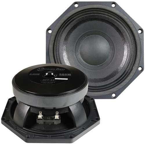 American Bass 8´´ Midbass Speaker 250W RMS/500W Max 4 Ohm