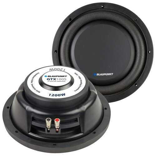 "Blaupunkt 10"" Slim Woofer 250W RMS/1200W Max Single 4 Ohm Voice Coil"