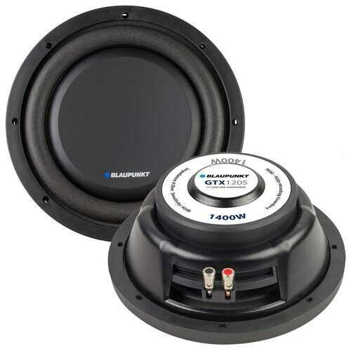 "Blaupunkt 12"" Slim Line Woofer 300W RMS/1400W Max Single 4 Ohm Voice Coil"