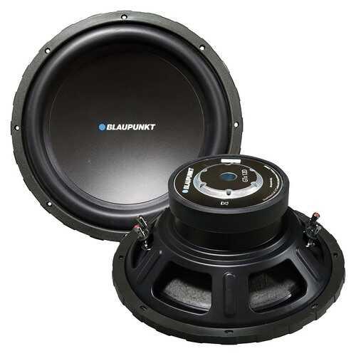 Blaupunkt 12´´ Woofer 450W RMS/2200W Max Dual 4 Ohm Voice Coils