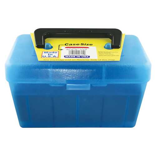 MTM Deluxe Ammo Box 50 Round Handle 300 WSM 300 Rem Ultra Mag