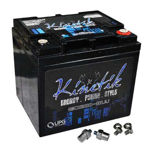 Kinetik BLU 1200W 12V Power Cell