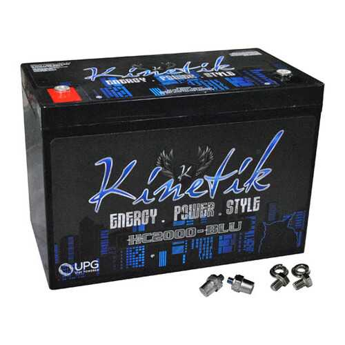 Kinetik BLU 2000W 12V Power Cell