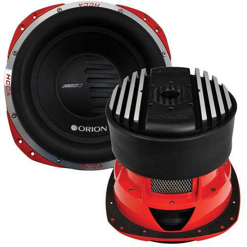"""Orion HCCA 12"""" Woofer Dual Voice Coil 2500W RMS"""