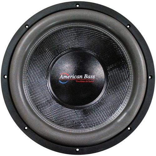 "American Bass 12"" Wooofer 3000 watts max 1 Ohm DVC"