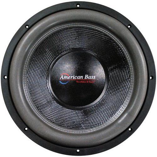 "American Bass 12"" Wooofer 3000 watts max 2 Ohm DVC"