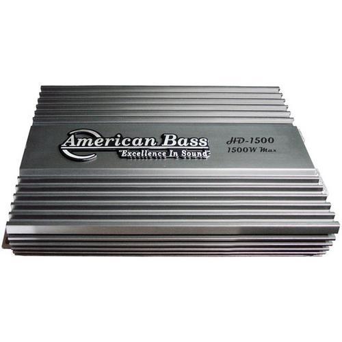 American Bass 1500W HD Series Amplifier