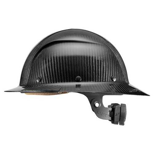 Lift Safety DAX Carbon Fiber Full Brim Black