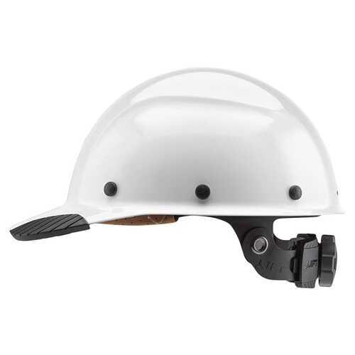 Lift Safety DAX Fiber Resin Cap Brim White