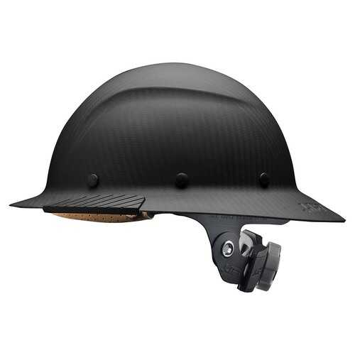 Lift Safety DAX Carbon Fiber Full Brim Matte Black