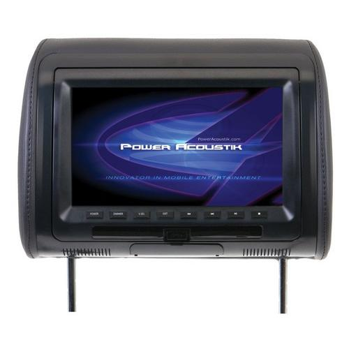 """Power Acoustik 9"""" Headrest Monitor 3-Color Skins LCD/DVD USB/SD SOLD EACH"""