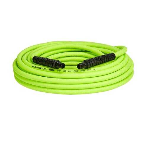 Flexzilla Air Hose 1/4in x 50ft 1/4in MNPT Fittings
