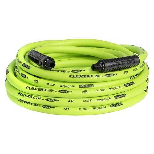 Flexzilla Air Hose 3/8in x 35ft 1/4in MNPT Fittings
