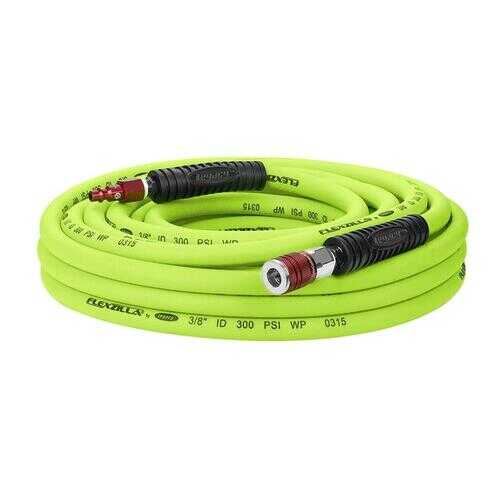 Flexzilla Air Hose 3/8in x 35ft w/ ColorConnex Coupler  Plug Type D Red