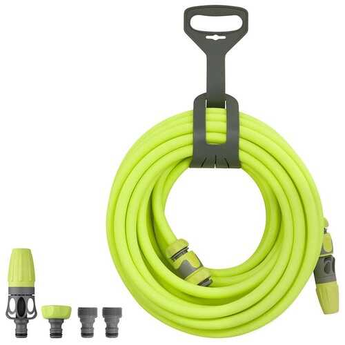 Flexzilla Garden Hose Kit w/ Quick Connect Attachments 1/2in x 50ft