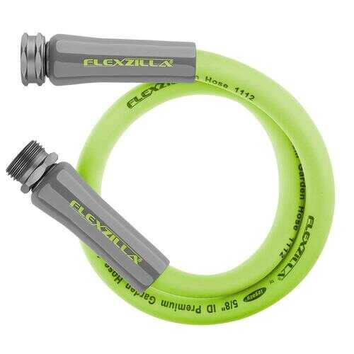 Flexzilla Garden Lead in Hose 5/8in x 5ft 3/4in   11 1/2 GHT Fittings