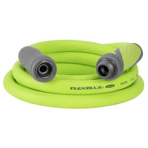Flexzilla SwivelGrip Garden Lead in Hose 5/8in x 10ft 3/4in   11 1/2 GHT Fittings