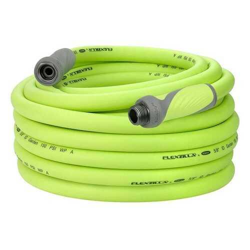 Flexzilla SwivelGrip Garden Hose 5/8in x 75ft 3/4in   11 1/2 GHT Fittings