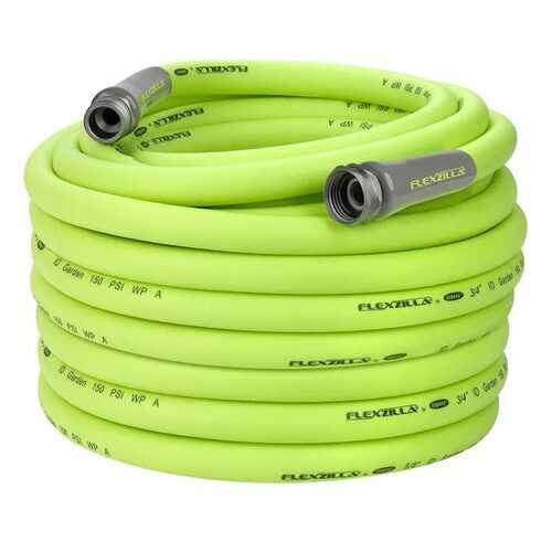Flexzilla Garden Hose 3/4in x 100ft 3/4in   11 1/2 GHT Fittings