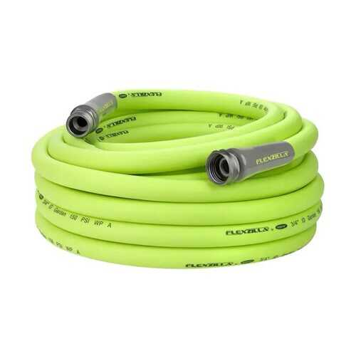 Flexzilla Garden Hose 3/4in x 50ft 3/4in   11 1/2 GHT Fittings