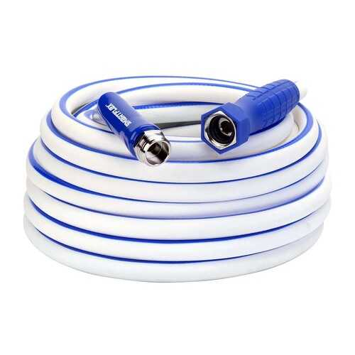 SmartFlex RV/Marine Hose 1/2in x 50ft 3/4in   11 1/2 GHT Fittings