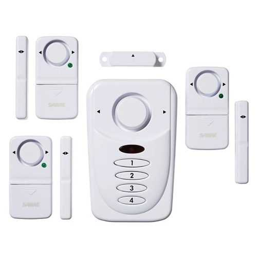 SABRE Wireless Home Security Burglar Alarm Set