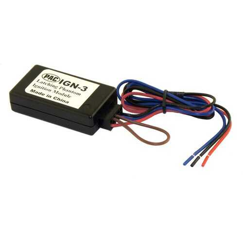 PAC Latching Phantom Ignition Module for Start/Stop Vehicles