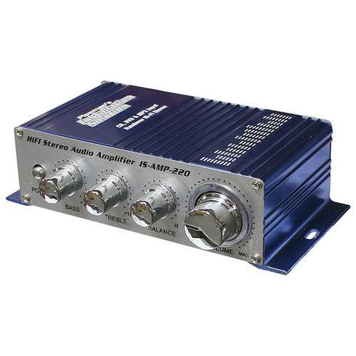 Installation Solutions Mini Stereo Amplifier with 3.5 Aux input