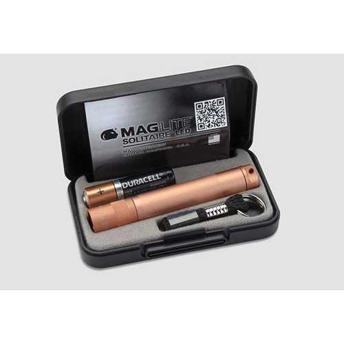 MAGLITE 1 CELL AAA  SOLITAIRE LED FLASHLIGHT ROSE GOLD