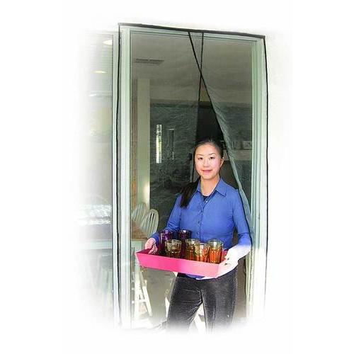 Jobar Sliding Door Screen Black 48Inch