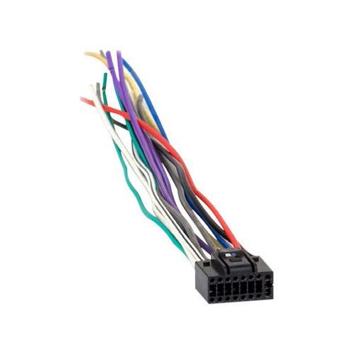 Xscorpion JVC 2009+ 16 Pin Wire Harness **JVC16009**