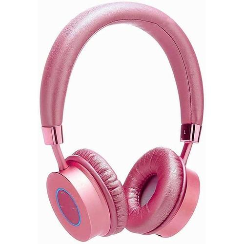 Contixo Premium Kids Headphones Volume Limit 85d Bluetooth Wireless Over Ear Microphone Pink