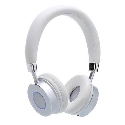 Contixo Premium Kids Headphones Volume Limit 85d Bluetooth Wireless Over Ear Microphone White