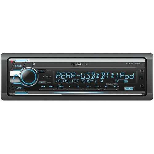 Kenwood CD Player with Bluetooth USBAuxSat & SWI Rdy F/R/S