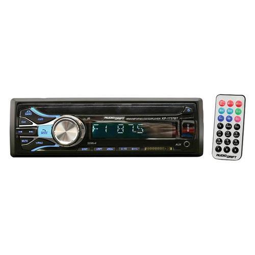 Audiodrift Mechless Single Din AM/FM/BT/USB/ Remote 50x4 Watts
