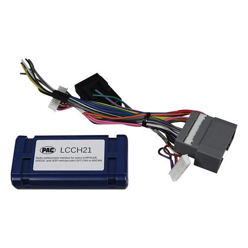 PAC Radio Replacement Interface for '07-18 Dodge Chrysler