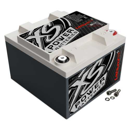 XS Power 12 Volt Lithium Battery 5000 Watts / 23.4Ah