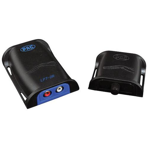 PAC 2CH high power line output converter with remote trun-on & level control