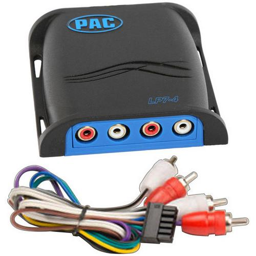 PAC Locpro L7 4CH Line Output Converter with Remote Turn-on