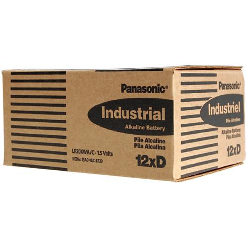 "Panasonic Alkaline ""D"" Cell  12 piece box of batteries"