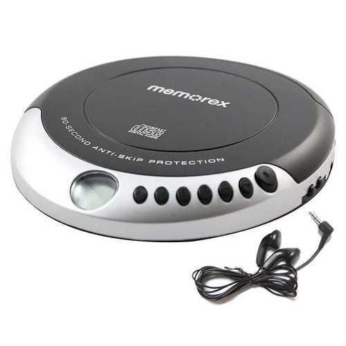 Memorex Personal Portable CD Player - Black