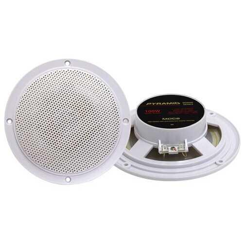 """Pyramid Marine 5.25"""" Dual Cone Speakers"""